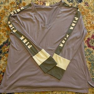 long sleeve victoria's secret shirt